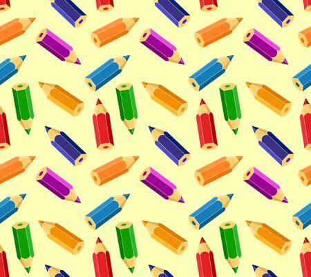 Fondo con lápices de colores.