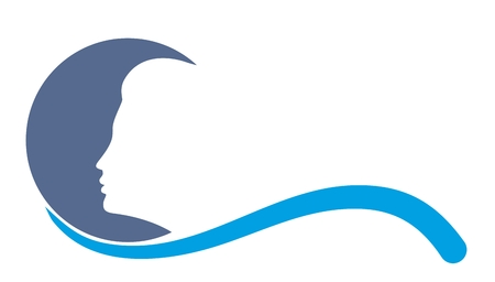 blue moon: Blue moon logo.