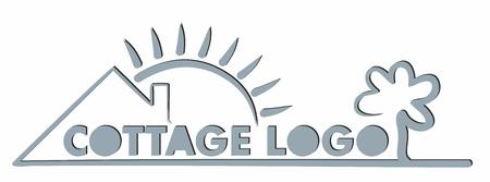 house logo: Logo eco friendly house.