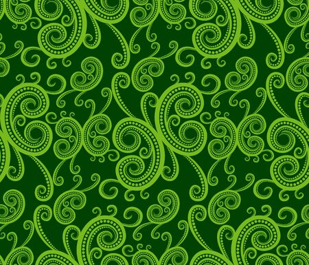 abstractions: A seamless background with vegetable pattern Illustration