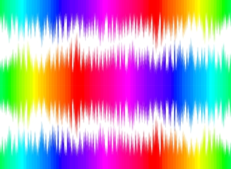 color scale: A seamless abstract background with color sound wave.