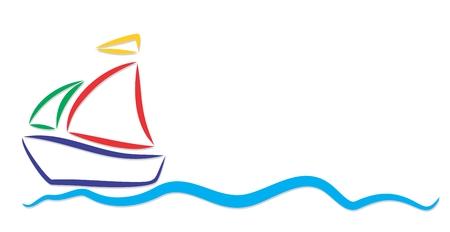 vessel: Logo of sea vessel.