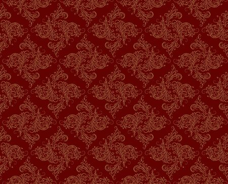 claret: Background with flower pattern.