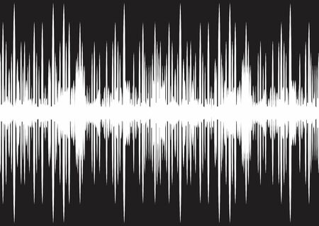 sound wave: Background with sound wave.
