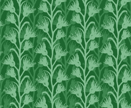 seamless: Seamless background with plant.