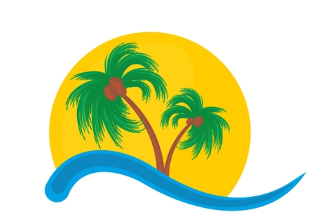 tropical: tropical island.