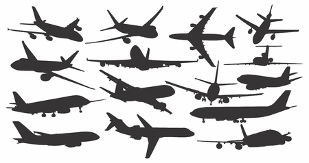 air liner: Set of passenger planes.
