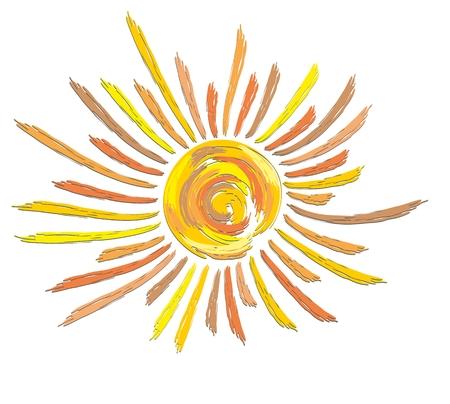 bright: Logo of bright sun.