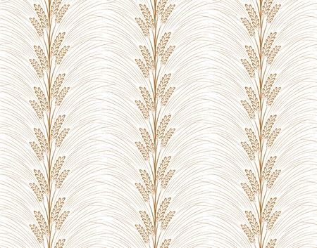 wheaten: Seamless background with wheat.