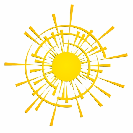 bright: Bright warm sun.