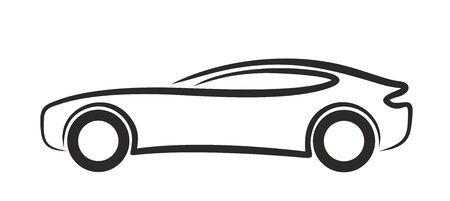 capacity: Logo sports car.