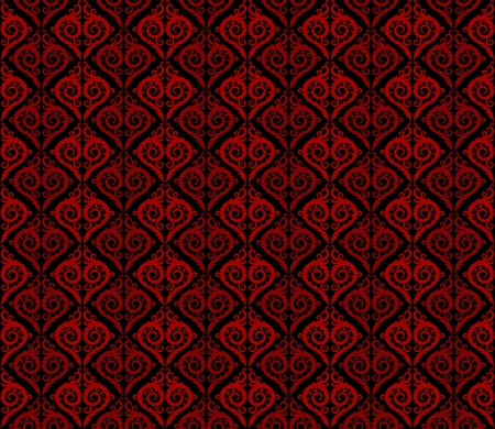 seamless pattern: Seamless background with flower pattern.