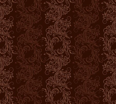 seamless: Seamless flower background. Illustration