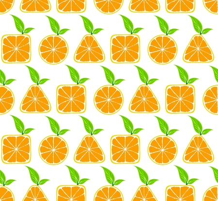 seamless: Seamless background with oranges.