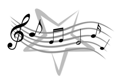 musical notation: notes.