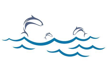 school of fish: Sea with fish.