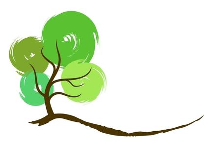 Tree logo. Logo
