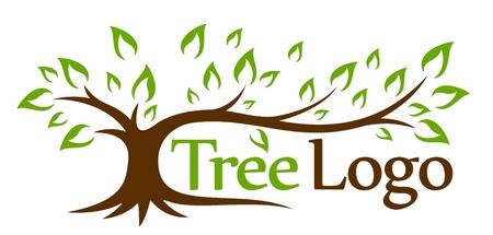Logo green tree.