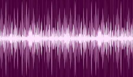 frequency: Background with sound scale.