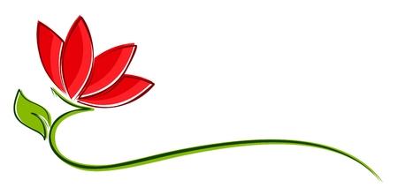 Flower logo.