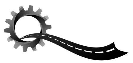 Road logo.