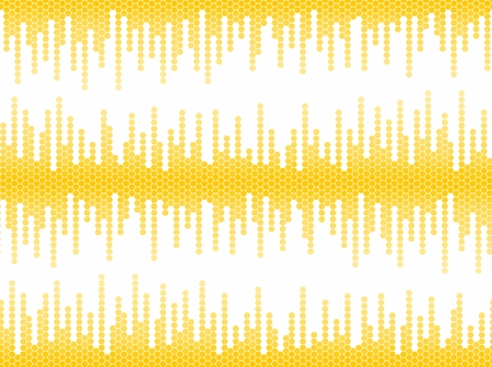 loudness: Background with sound scale.