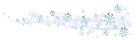 Background with snow.