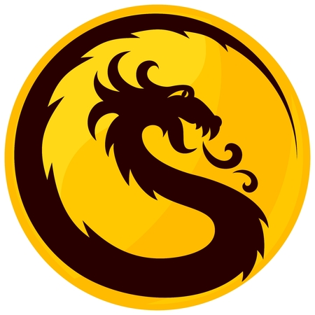 A Dragon Symbol.
