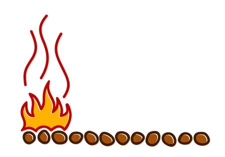 The Symbol of Fire Wood.