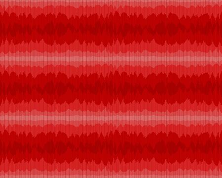 A red seamless background with a sound scale.