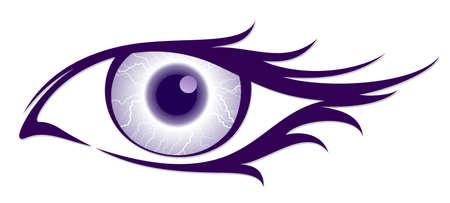 The symbol of the female eye.