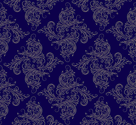 The Seamless dark background with pattern.