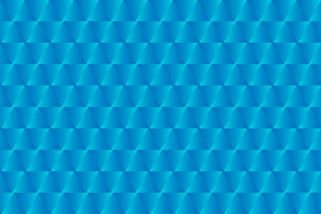 Light blue triangular seamless pattern. Bright geometric vector background. Easy to edit design template for your artworks.