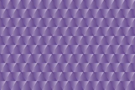 Purple triangular seamless pattern. Bright geometric vector background. Ultra violet decorative backdrop. Easy to edit design template for your artworks.