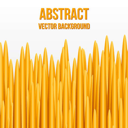 Orange bars on a white. Abstract vector background. Easy to edit design template for your presentations.