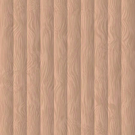 Rustic wood background. Light brown wooden texture. Wooden floor or wall panel surface vector illustration. Country concept. Easy to edit template for your design projects.