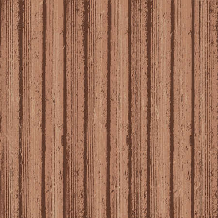 Rustic wood texture background. Aged wood texture. Brown wooden backdrop. Grunge retro vintage flat lay layout. Easy to edit template template for your design projects. Vector illustration.