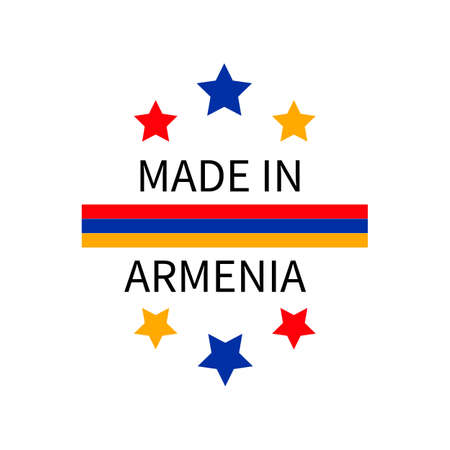 Made in Armenia label.