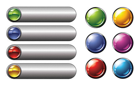 buttons Illustration