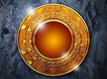 monedas antiguas: Un hermoso marco