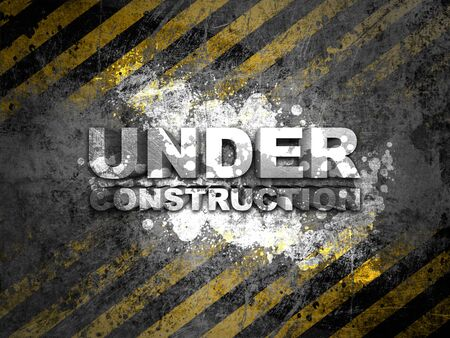 road work: under construction