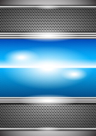metal background  Stock Vector - 9849117