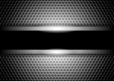 stylish metallic background  Vector