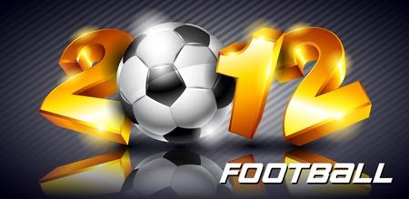 Soccer 2012 Stock Vector - 11540208