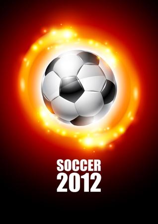 Soccer 2012 Vector