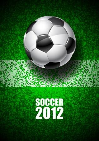 Soccer 2012 Stock Vector - 11540209