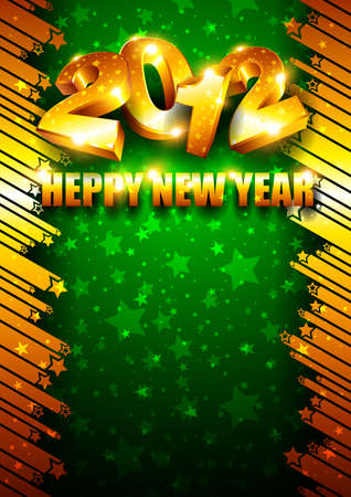 New Year background Stock Vector - 11674779