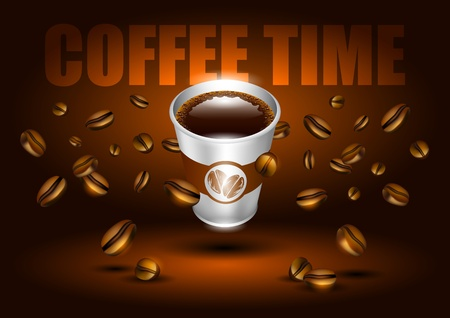 coffee time Illustration