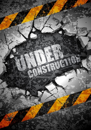 under construction  Stock Vector - 12807667