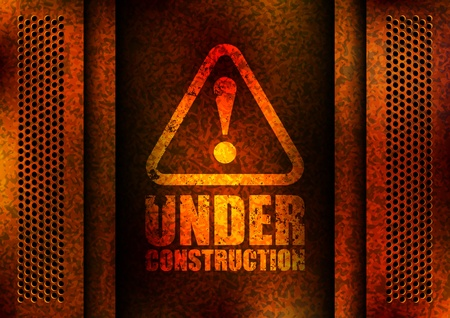 under construction road sign: under construction